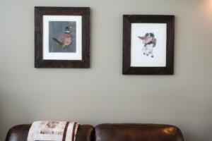 Custom Pheasant Frames
